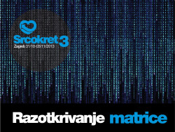 NAJAVA: Konferencija Srcokret 3; 31. listopada - 3. studenoga 2013.