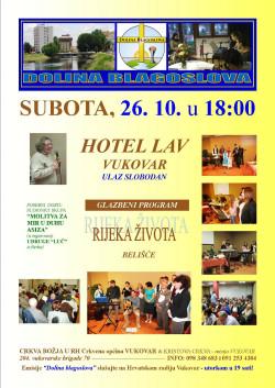 NAJAVA: Dolina blagoslova, 26. listopada 2013., Vukovar