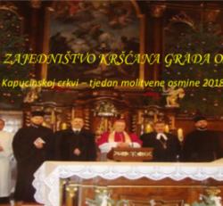 Svečanost zajedništva kršćana grada Osijeka