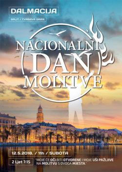 Nacionalni dan molitve, Split, 12. svibnja 2018.