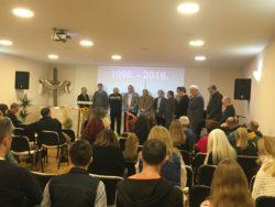 20. Obljetnica djelovanja Kristove Crkve u Varaždinu
