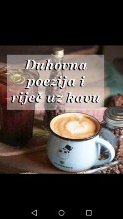 Duhovna poezija i riječ uz kavu